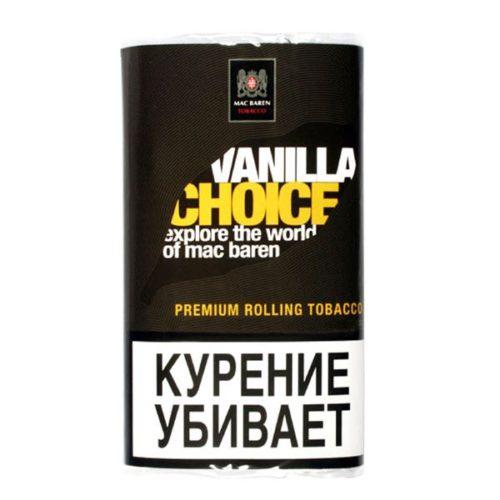 Табак для сигарет Mac Baren Vanilla Choice
