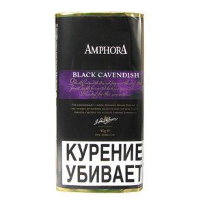 Табак для трубки Amphora Black Cavendish