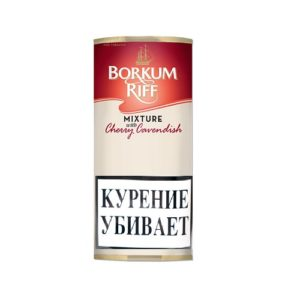 Табак для трубки Borkum Riff Mixture with Cherry Cavendish - 40 гр