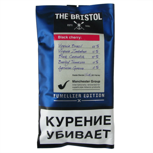 Табак для трубки Bristol Black Cherry