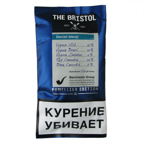 Табак для трубки Bristol Danish Blend