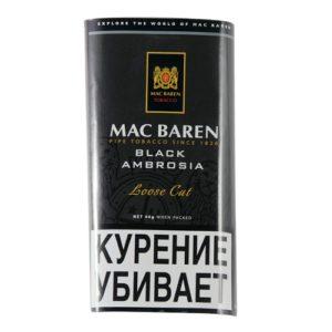 Табак для трубки Mac Baren Black Ambrosia - 40 гр