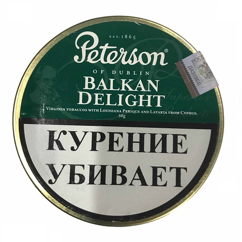 Табак для трубки Peterson - Balkan Delight - 50 гр