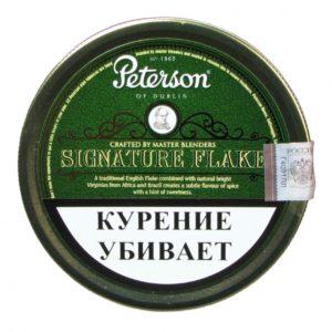 Табак для трубки Peterson - Signature Flake - 100 гр
