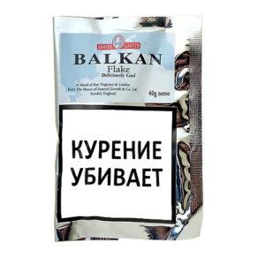 Табак для трубки Samuel Gawith Balkan Flake (КИСЕТ 40 гр)