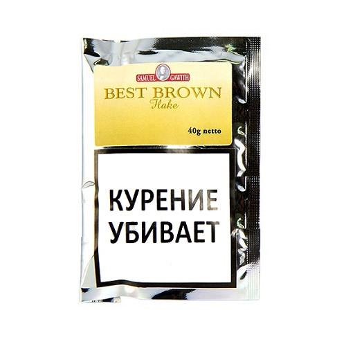 Табак для трубки Samuel Gawith Best Brown Flake (КИСЕТ 40 гр)