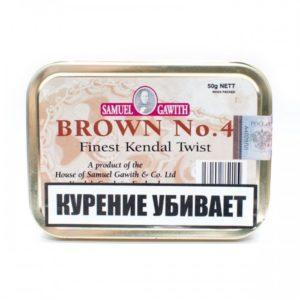 Табак для трубки Samuel Gawith Brown No 4 - 50 гр