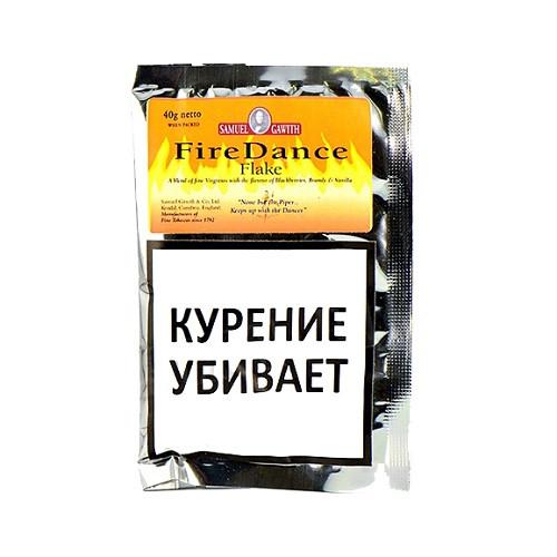 Табак для трубки Samuel Gawith Firedance Flake (КИСЕТ 40 гр)