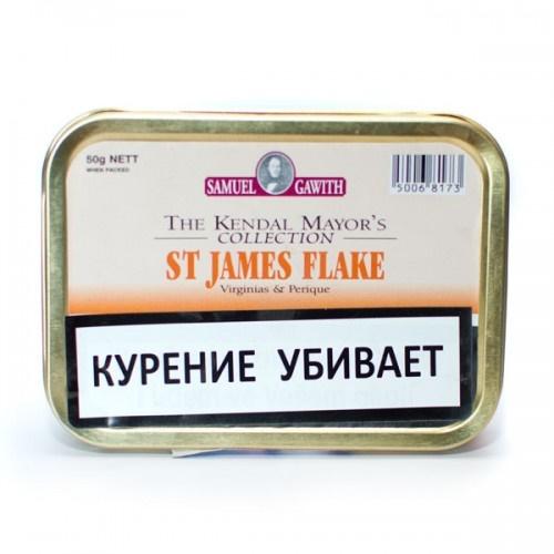 Табак для трубки Samuel Gawith St James Flake (50 гр)