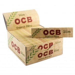 Бумага для самокруток OCB Slim Organic