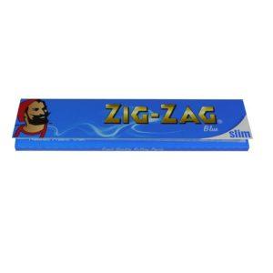 Бумага для самокруток Zig-Zag Slim Size Blue