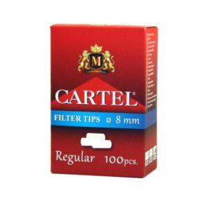 Фильтры для самокруток Cartel Regular Box 100 шт.