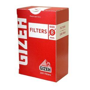 Фильтры для самокруток Gizeh Standard 100 шт.