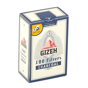 Фильтры для самокруток Gizeh Standard угольные 100 шт.