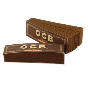 Фильтры для самокруток OCB Filter Tips Perforated Virgin 50 шт.