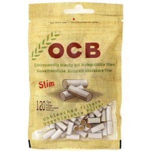 Фильтры для самокруток OCB SLIM ECOLOGICAL 120 шт.