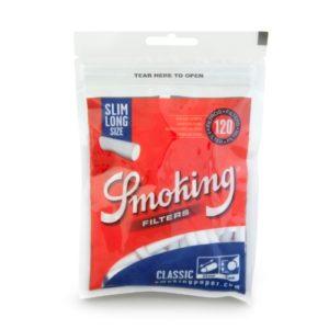 Фильтры для самокруток Smoking Slim Long 120 шт.