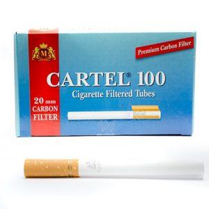 Гильзы для сигарет Cartel - Carbon 100 шт