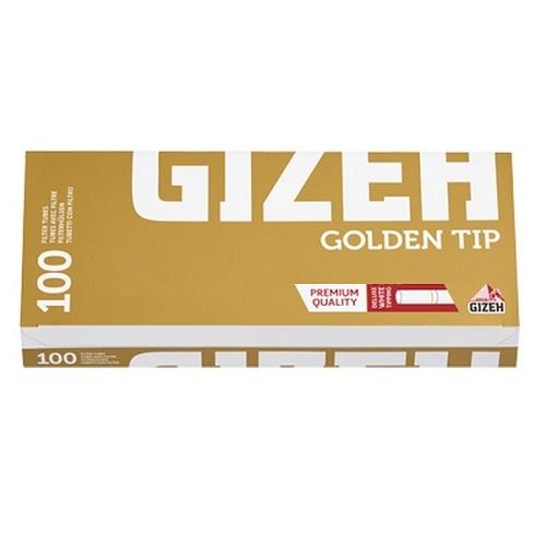 Гильзы для сигарет Gizeh Golden Tip - 100 шт.