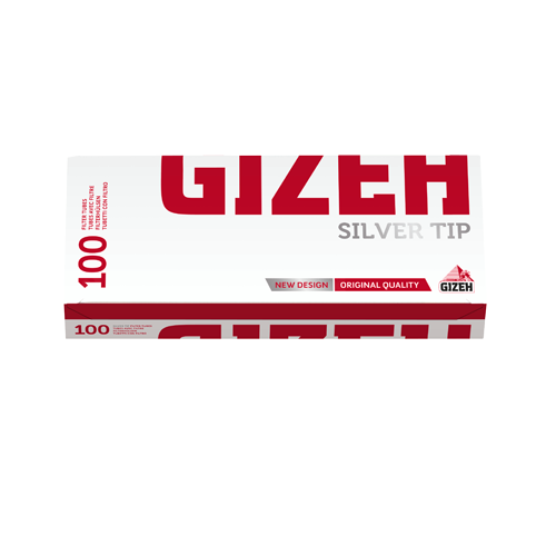 Гильзы для сигарет Gizeh Silver Tip 100 шт.