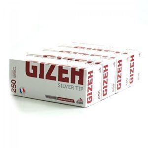 Гильзы для сигарет Gizeh Silver Tip 200 штук