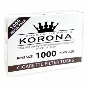 Гильзы для сигарет Korona Mega Pack - 1000 шт.