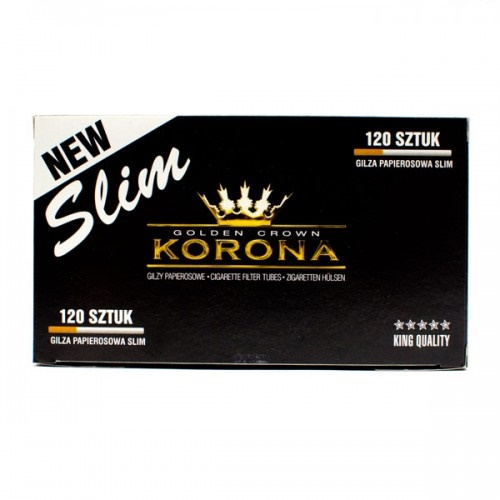 Гильзы для сигарет Korona Slim - 120 шт