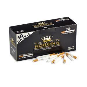 Гильзы для сигарет Korona Standart - 550 шт.