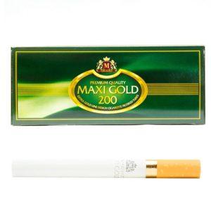Гильзы для сигарет Maxi Gold 200 шт.
