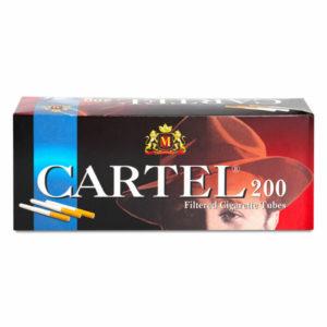 Сигаретные гильзы Cartel 200 штук