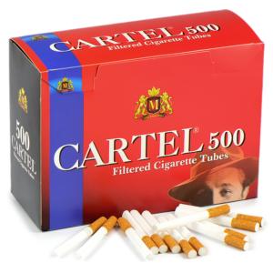 Сигаретные гильзы Cartel 500 штук
