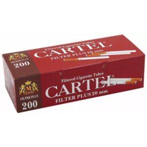 Сигаретные гильзы Cartel Long Filter 200 штук