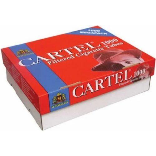 Сигаретные гильзы Cartel Megapack 1000 штук