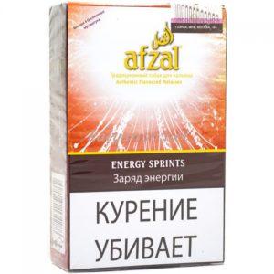 ТАБАК ДЛЯ КАЛЬЯНА AFZAL ENERGY SPRINTS (Заряд Энергии)