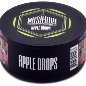 Табак для кальяна MUST HAVE APPLE DROPS (Яблочные леденцы)