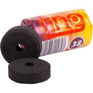 Уголь Сarbopol Ring 38 мм.