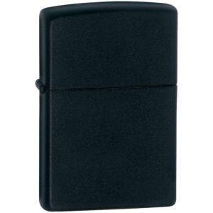 Зажигалка Zippo 1618 Black Matte Slim